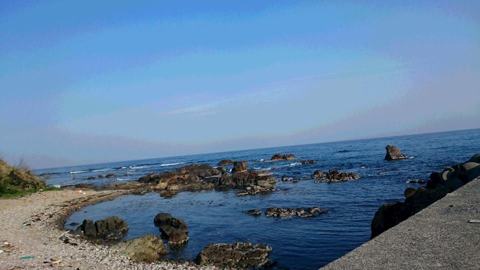 【今朝の日本海】