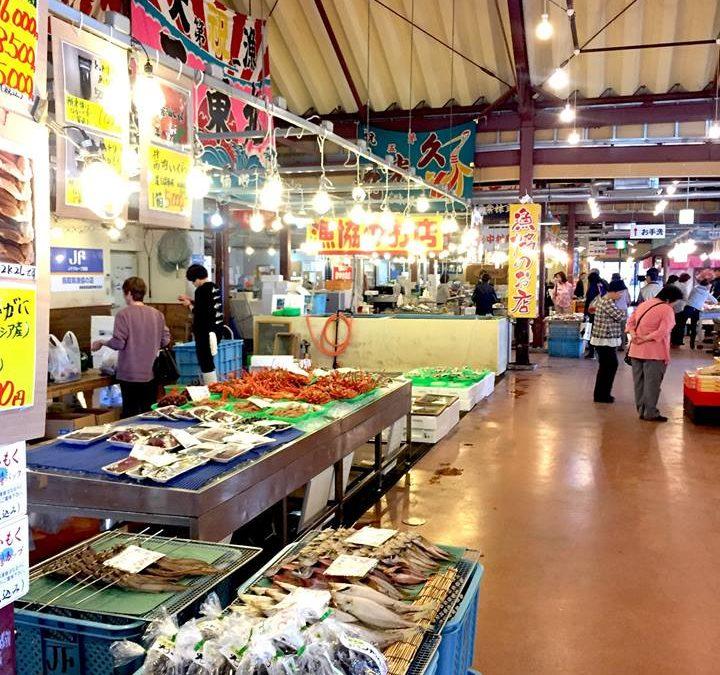 出店店舗さんのご紹介:鳥取港海鮮市場 「かろいち」