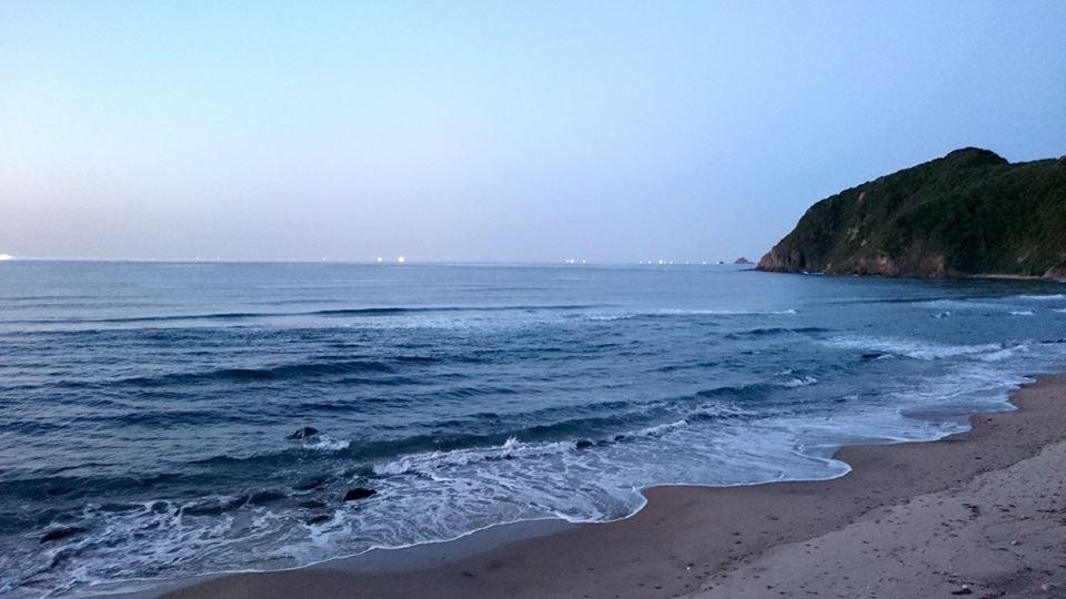 【鳥取の海】