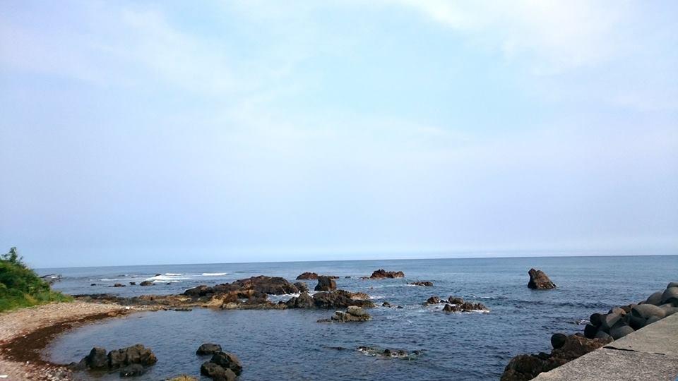 【今朝の鳥取の海】