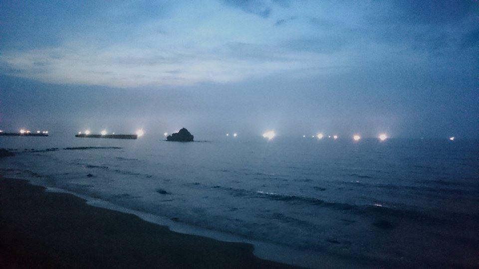 【鳥取の海・夜と朝】