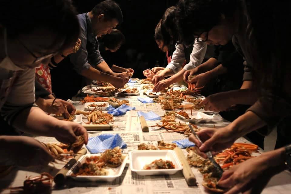 11/16(金)に料理教室を開催しました:メニューは「親がに丼」